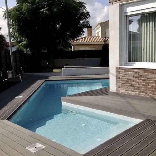 Reforma exterior i creació piscina